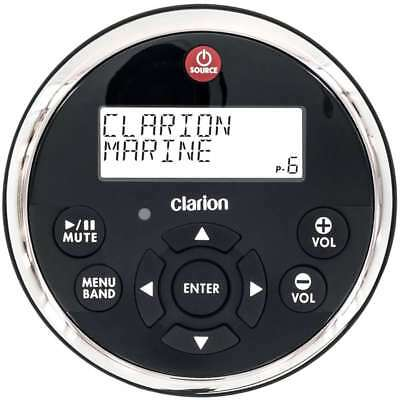 Clarion Watertight Wired Remote with Display for CMV1 CMD9 #MW1