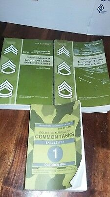 Soldier's Manual of Common Tasks Skill Level 1,2,3,4 AUGUST 2003 STP 21-1-SMCT