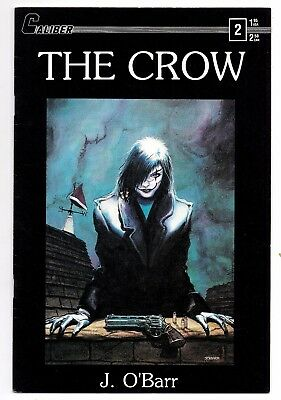 THE CROW, Volume 1 #2, J. O'Barr, Caliber Comics first print March 1989