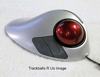 MOST EXCELLENT Microsoft Explorer Trackball Mouse Upgraded W/ CERAMIC BEARINGS