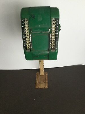 S&H Green Stamps Trading Stamp  Dispenser Machine  with Stand