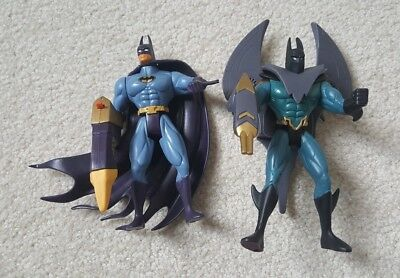 2 Legends Of Batman  Future & Crusher Aero Power Punching Action Action Figures