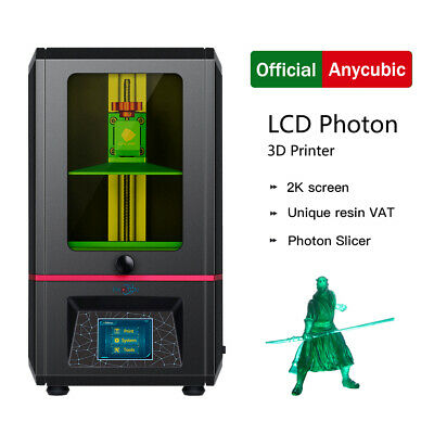 Anycubic PHOTON 3D Printer Kit UV Resin SLA Light Cure LCD High Precision