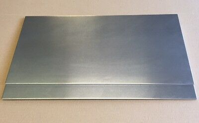 """2 Pieces - 1/8"""" .125 Aluminum Sheet Plate 12"""" x 24""""  5052 - Save When You Buy 2!"""