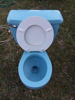 VINTAGE MID-CENTURY AVOCADO Colored Toilet - Totally Renovated ...