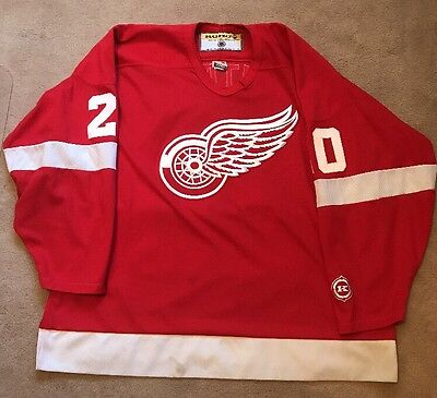 Vintage Nhl Koho Authentic Luc Robitaille Detroit Red Wings Jersey Xxl Rare Home