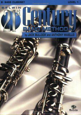 """BELWIN-21st CENTURY BAND METHOD LEVEL 1 """"BASS CLARINET"""" MUSIC BOOK-NEW ON SALE!!"""