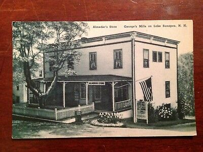 Antique Postcards, New Hampshire and Maine, Lot of 11