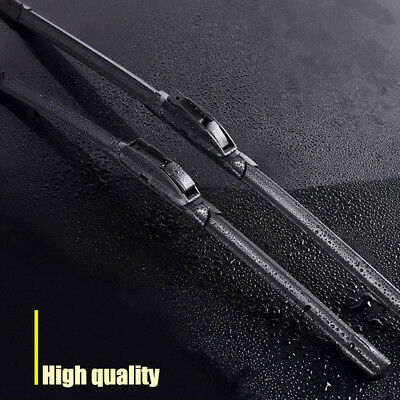 Front Windshield Frameless Wiper Blades for 2018 Toyota C-HR CHR I&L Hook 2pcs