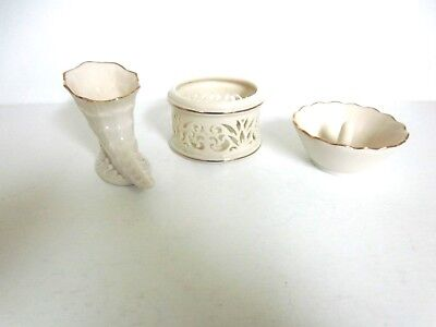 Lenox Collectibes - Ring Holder, Votive Candle Holder, Cornucopia