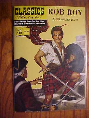 CLASSICS ILLUSTRATED  #118 ROB ROY  (JACK LAKE 2011) FN to NM