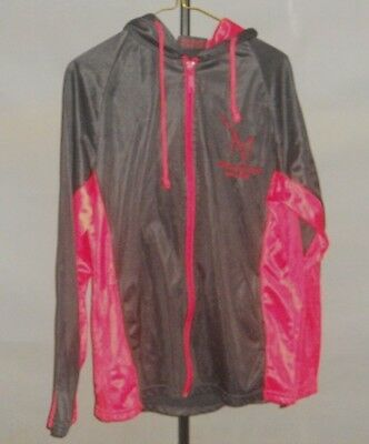 M Resort Hotel and Casino Las Vegas Nevada Jacket with Hoody Black/Red Size S