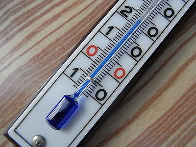 antikes Thermometer Glas Skala Ersatz Wetterstation Barometer Weather station