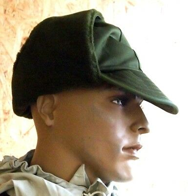 Danish Army Winter Trapper Hat Cap With Earflaps New Militaristic Accessory