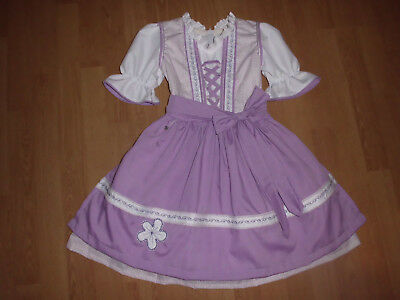"NEU   Kinder Dirndl  gr. 110/116   ""MADE WITH LOVE"""