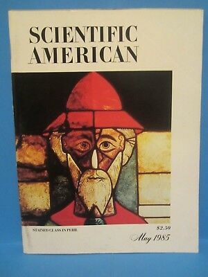 Vintage Scientific American Magazine May 1985 (Stained Glass in Peril)