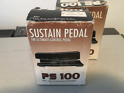 PROEL FATAR PS100 Pedal Switch Sustain NEU NEW OLD STOCK NOS