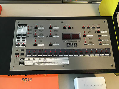 MAM Music & More SQ16 Step Sequencer super rare RAR Vintage Sequenzer GERMANY