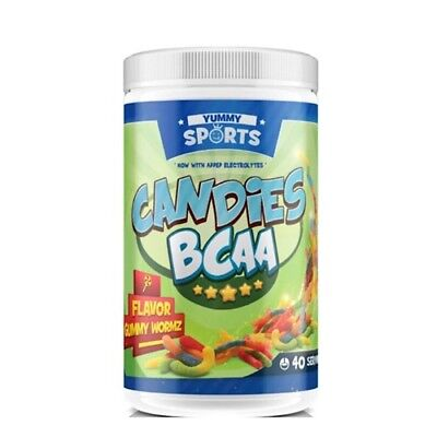 CANDIES BCAA  40 serves BY YUMMY SPORTS + Free Shaker
