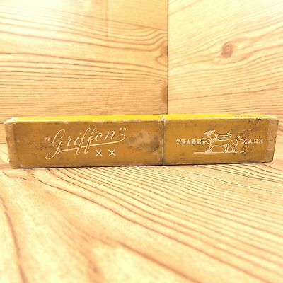 Antique Griffon XX Case Only Yellow Made In Germany No Razor