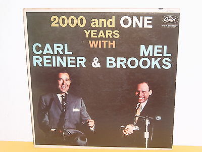 Lp - Carl Reiner & Mel Brooks - 2000 And One Years With ( Englisch Comedy )