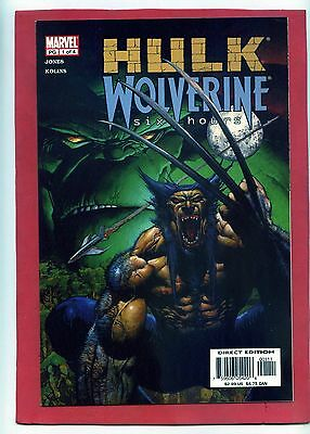 Hulk Wolverine Six Hours 1-4 Complete! Stunning 9.8 Mint Condition!