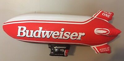 "Vintage New (Still in Package) 30"" Budweiser Inflatable Bud One Air Ship Blimp"