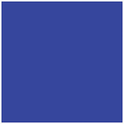 "Coloured Gel Sheet 48""x21"" (Colour Zenith Blue 195)"