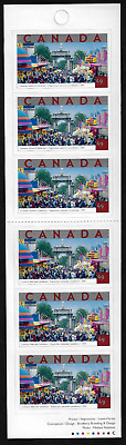 Canada - Booklet of 6 - Tourist Attractions: National Exhibition #2023a (BK295)