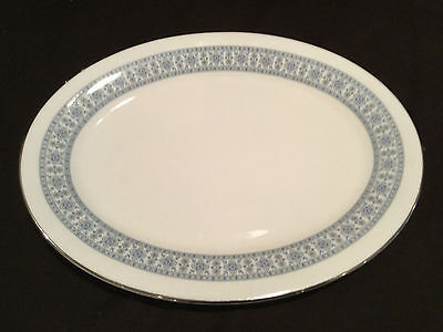 Small Platter In  Royal Doulton Counterpoint/ Platinum Band