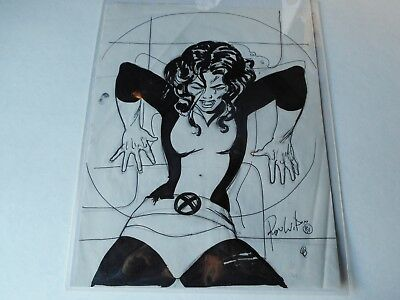 X-MEN'S KITTY PRIDE original art by Ron Wilson