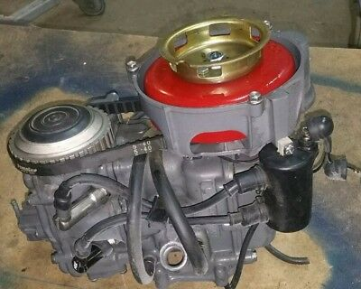 Parting Out 1970's 7.5 Hp Honda 4 Stroke: Complete Powerhead