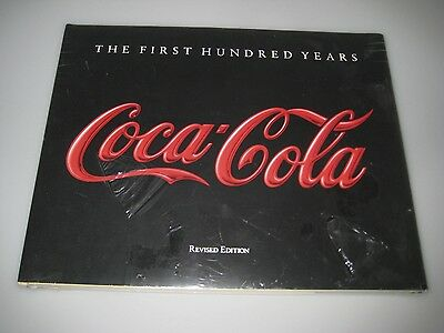 NEW!  Coca-Cola. The First Hundred Years. 1986. w/ Dustjacket by Anne Hoy