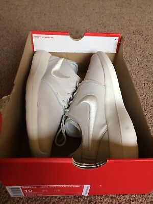 classic fit 0750c e0bb0 Nike NikeLab Roshe Two Leather PRM (876521-100) Mens size 10
