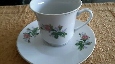 Cup and Saucer by Napco