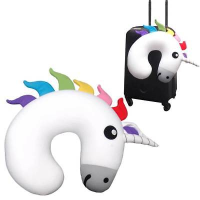 Unicorn Travel Cushion Head and Neck Support Pillow by BITTEN DESIGN