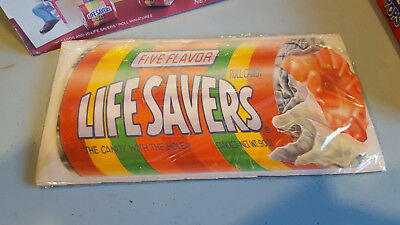 Vintage Valentine's Day 4 Lifesavers Candy Card Kits and 1 LifeSavers Card