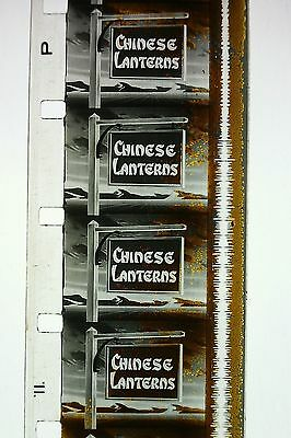 Rare,vintage 1930S 16Mm Cartoon....' Chinese Lanterns ' ..b/w ..sound...