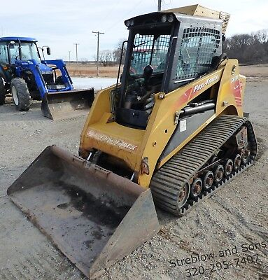 2006 ASV SR-70 Skid Steer Track Loader High Flow Aux Hyd Enclosed Cab w/ Bucket