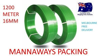 Polyester Strapping (PET) | Green PET Strap Embossed(1200m x 16mm )