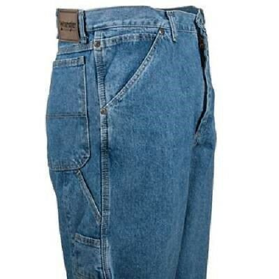 Wrangler Mens Carpenter Jeans Antique Stone or Quartz 30, 32, 34, 36, 38, 42