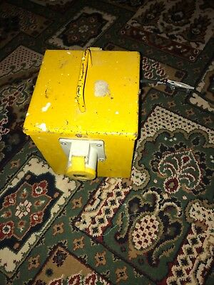 portable tool transformer with two output sockets 3kva