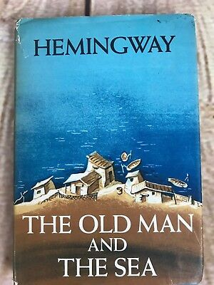 Ernest Hemingway The Old Man and the Sea First Edition First Printing A 1952