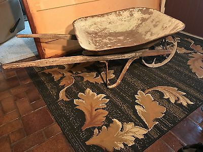 Antique Vintage Wheelbarrow!