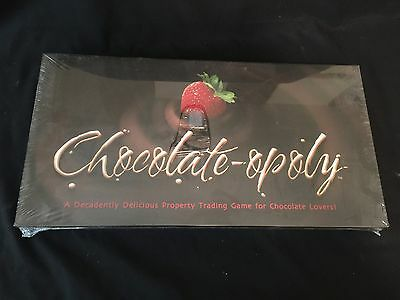 Chocolate Opoly Monoply Unopened Factory Sealed Collectors Edition