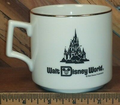 Walt Disney World Vintage Coffee Mug Tea Cup
