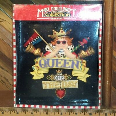 Mary Engelbreit Ornament Christmas Collection Queen For The Day