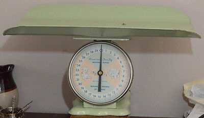American Family Nursery Scales~Vintage Light Green~Convertable Top~OUTSTANDING