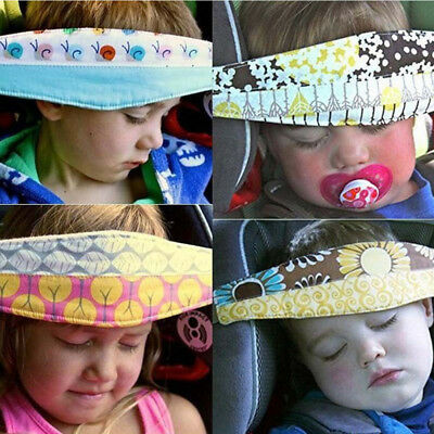 Baby Car Seat Safety Headrest Pillow Sleeping Head Support Belt For Cute Kids