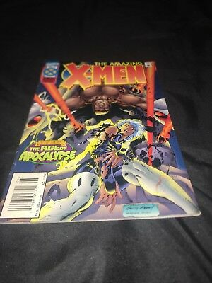 MARVEL COMICS ~ THE AMAZING X-MEN DELUXE No. 4 ~ JUN 1995 NM Age of Apocalypse